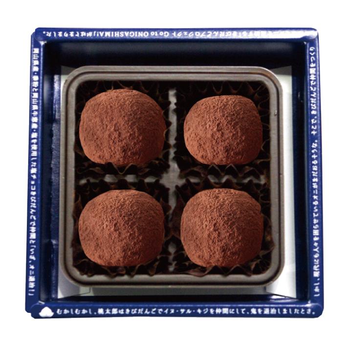 巧克力的盐 kibidango 4 件