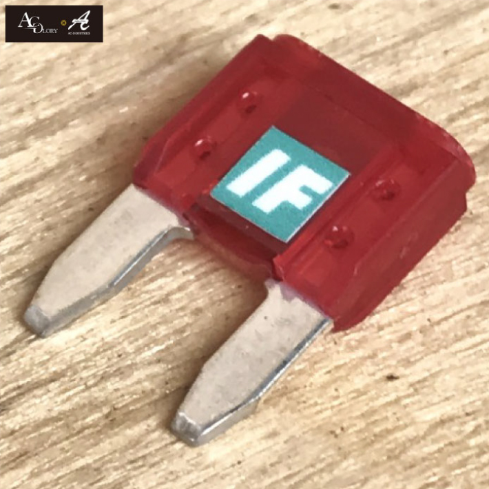 Product made in AC-GLORY AC-INDUSTRIES tuning fuse Maine silver plating 10A Japan