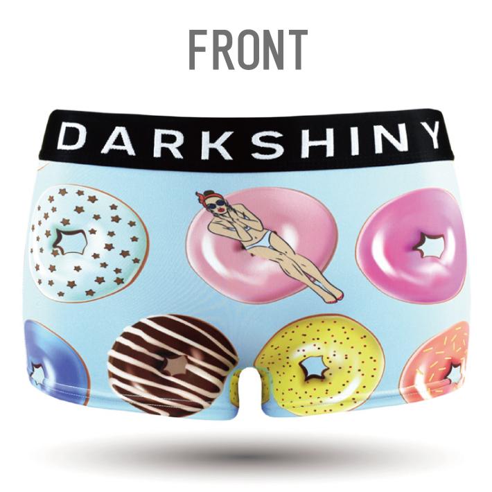 DARK SHINY dark shiny YLLB06 yellow label doughnut lady Lady's L