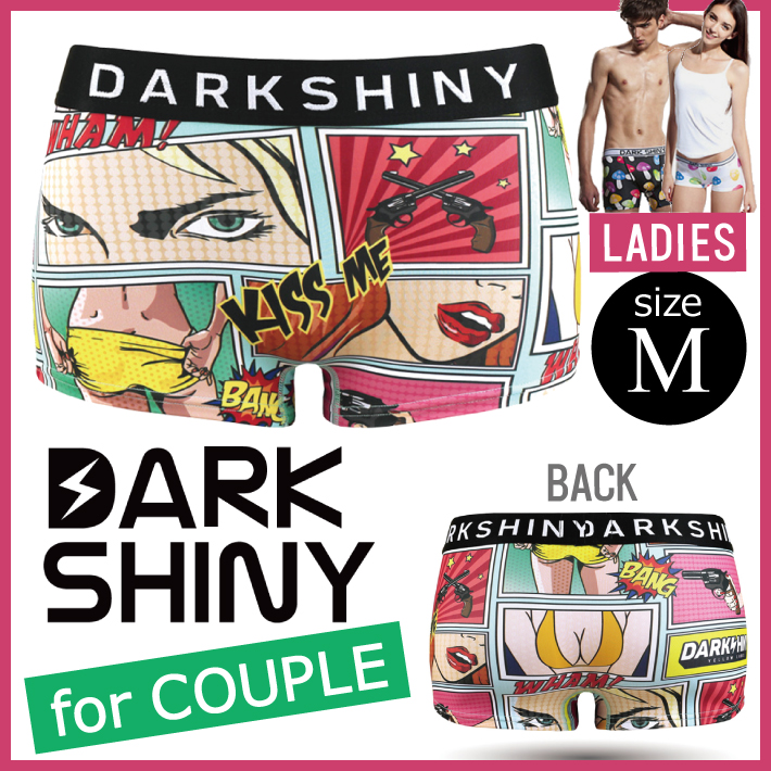 DARK SHINY dark shiny YLLB07 yellow label Peeping Tom Lady's M