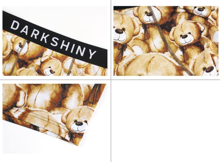 DARK SHINY dark shiny YLLB01 イエローラベルデディーベアメンズ L