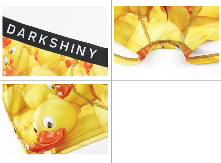 DARK SHINY dark shiny YLLB03 yellow label yellow duck men M