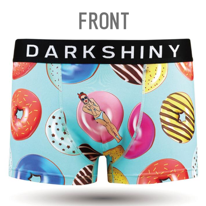 DARK SHINY dark shiny YLLB06 yellow label doughnut lady men L