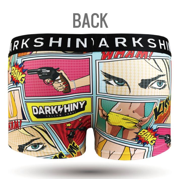 DARK SHINY dark shiny YLLB07 yellow label Peeping Tom men L