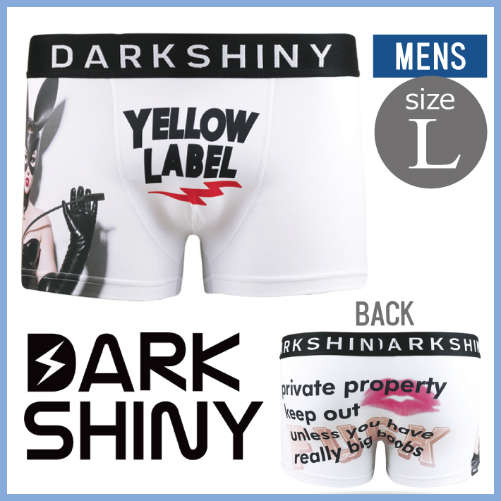 DARK SHINY dark shiny YLLB12 yellow label bunny girl men L