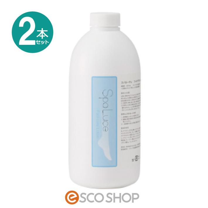 (2本セット)SpaLuce スパルーチェ フットケアローション 800ml 弱酸性(保湿 角質除去 ボディクリーム ピーリング かかとケア パラベンフリー ギフト プレゼント)(送料無料)