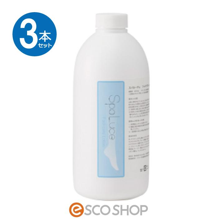 (3本セット)SpaLuce スパルーチェ フットケアローション 800ml 弱酸性(保湿 角質除去 ボディクリーム ピーリング かかとケア パラベンフリー ギフト プレゼント)(送料無料)