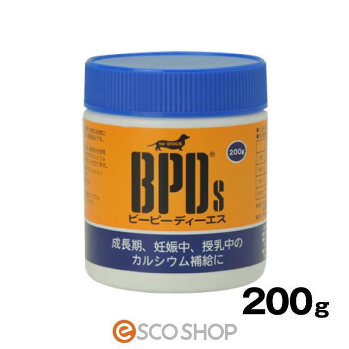 発売以来40年以上のロングセラー 現金特価 サンユー 数量は多 BPDs ビーピーディーエス コラーゲンカルシウム 犬用 ミネラルバランス 歯 ふりかけ 200gドッグサプリメントコラーゲン 健康維持