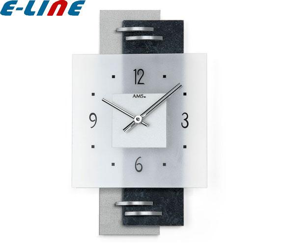 クォーツ壁掛け時計 おしゃれ ドイツ製 シンプル 22×36×5cm 9245 AMS「送料1620円」