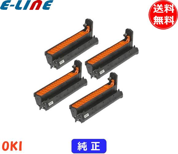 オキ ID-C3M ドラムカートリッジ 4色セット 純正 「送料無料」 IDC3M