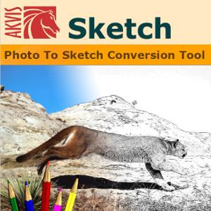 【35分でお届け】AKVIS Sketch Home 20.0 スタンドアロン【shareEDGEプロジェクト】【ダウンロード版】