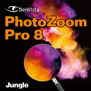 【35分でお届け】PhotoZoom Pro 8 【ジャングル】【Jungle】【ダウンロード版】