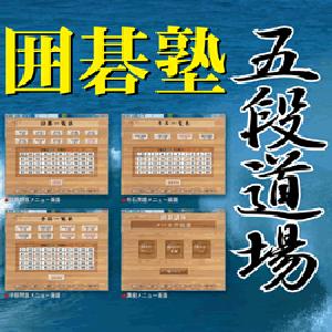 【35分でお届け】囲碁塾 五段道場 【マグノリア】【ダウンロード版】