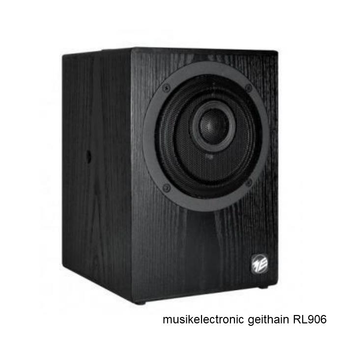 musikelectronic geithain RL906 同軸2ウェイ アクティブスピーカー ペア Ash Black