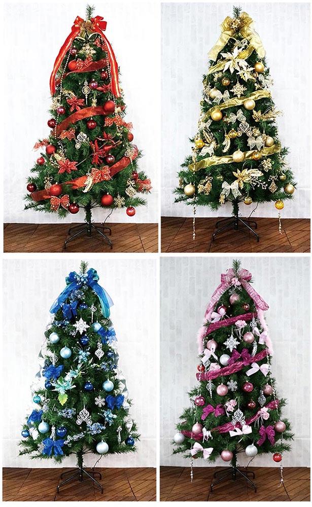 【店舗・イベント用品】【クリスマス】【ツリー・リース】180cmカナディアンツリーセット