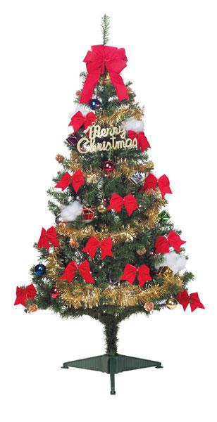 【店舗・イベント用品】【クリスマス】【ツリー・リース】ファミリーセットツリー・180cm