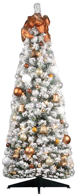 【店舗・イベント用品】【クリスマス】【ツリー・リース】セットツリー・ポップアップスノードリーム150cm
