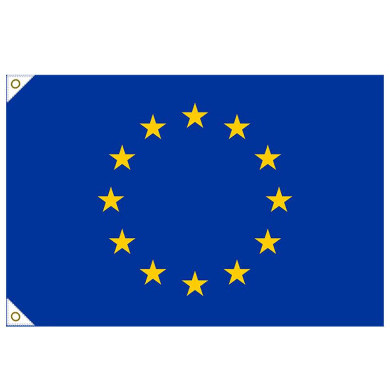 【万国旗・世界の国旗】欧州連合(EU)国旗(135cm幅/エクスラン)