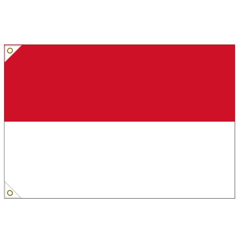 【万国旗・世界の国旗】インドネシア国旗(135cm幅/エクスラン)
