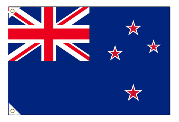 【万国旗・世界の国旗】ニュージーランド国旗(135cm幅/エクスラン)