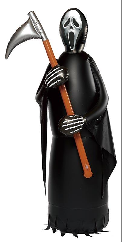 【店舗・イベント用品】【ハロウィン】180cmエアPOPロッキング・スマイリーゴースト