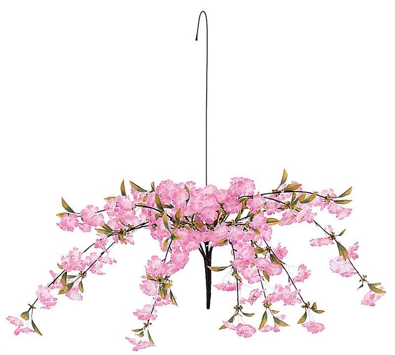 【店舗・イベント用品】【季節別ディスプレイ】【春】【桜】シダレ桜センター6個セット