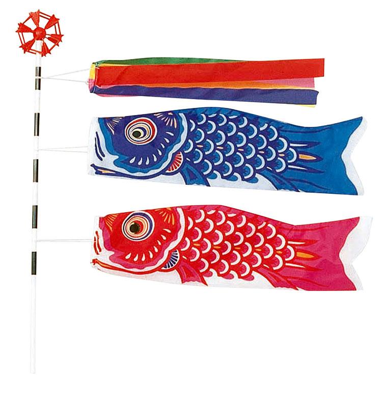 【店舗・イベント用品】【季節別ディスプレイ】【春】【こどもの日】ミニ鯉のぼりセット・20個セット