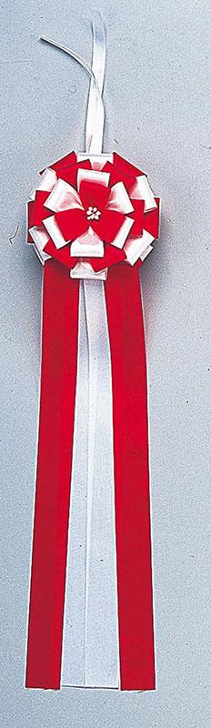 【式典】【イベント】【テープカット用品・記念式典・紅白幕】テープカットリボン・中(5個組)