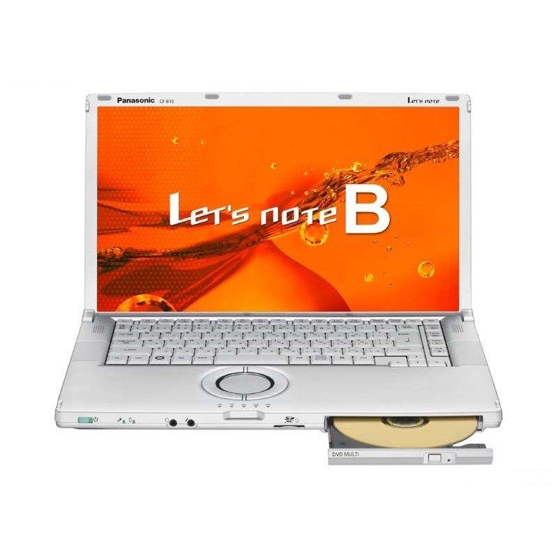 【中古】新品SSD搭載 Panasonic Let's note CF-B11 高速第3世代 Core i5 Win10 リカバリー領域あり 15型大画面