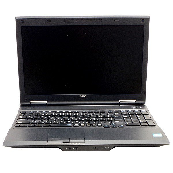 【中古】新品SSD搭載 15型大画面 NEC VersaProシリーズ VX-G メモリ4GB 第3世代Corei5 Win10 リカバリー領域あり ノートパソコン