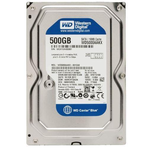 格安SALEスタート ポスト投函ですので 時間指定できません 中古 3.5インチ WD Blue 3.5inch 7200rpm 店内全品対象 500GB 内臓ハードディスク WD5000AAKX SATA 増設HDD WESTERNDIGITAL