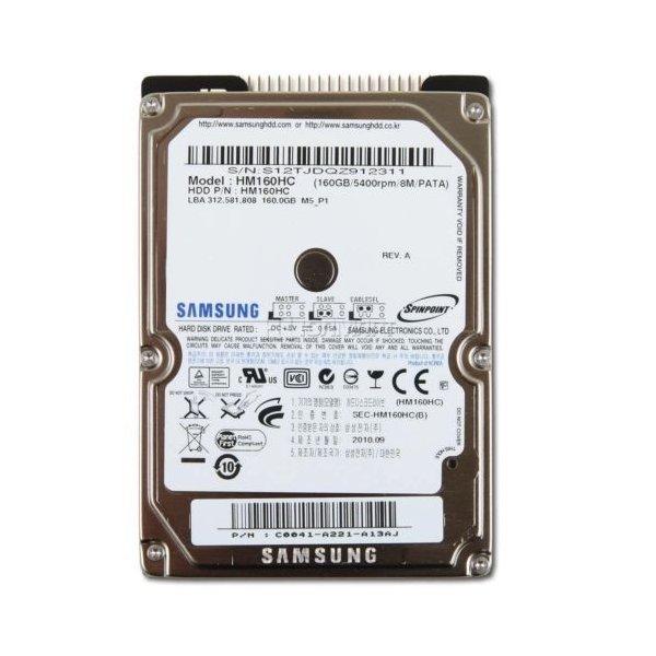 安心保障1か月 ポスト投函ですので 予約販売品 時間指定できません 中古 2.5インチHDD IDE SAMSUNG HM160HC 内臓HDD 160GB 商品追加値下げ在庫復活 ATAPI PATA ハードデスク 送料無料 9.5mm ノートPC内蔵用