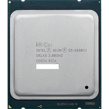 倉 初期保障有 交換CPU 中古パーツ 代引き不可 e5-2690 v2 セール特価 安心初期付き 正規品 送料無料 Intel Xeon SR1A5 デスクトップ用cpu E5-2690V2 CPU 中古