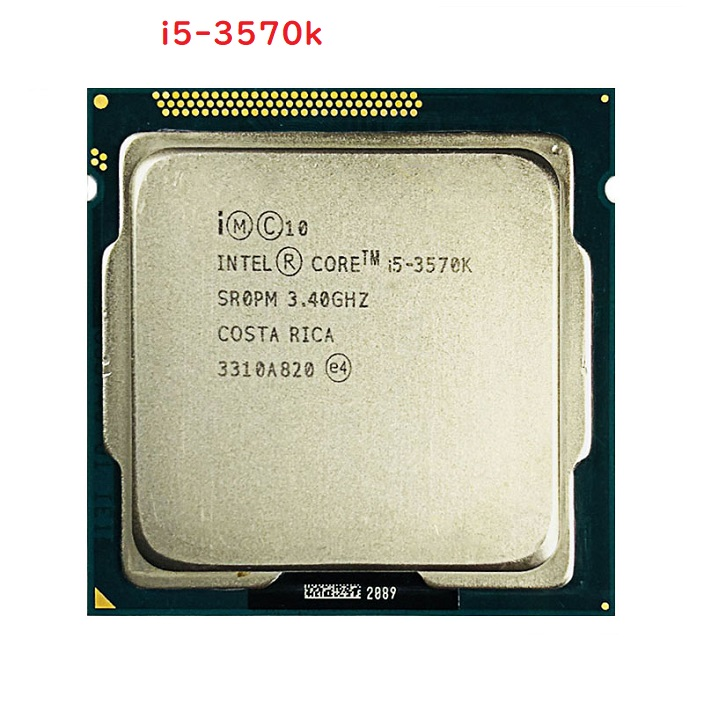初期保障有 交換CPU COREi5-3570k 送料無料 本体PC用CPU 限定モデル Intel CPU Core 6M 増設CPU 3.4GHz 3570K インテル 引出物 中古 i5