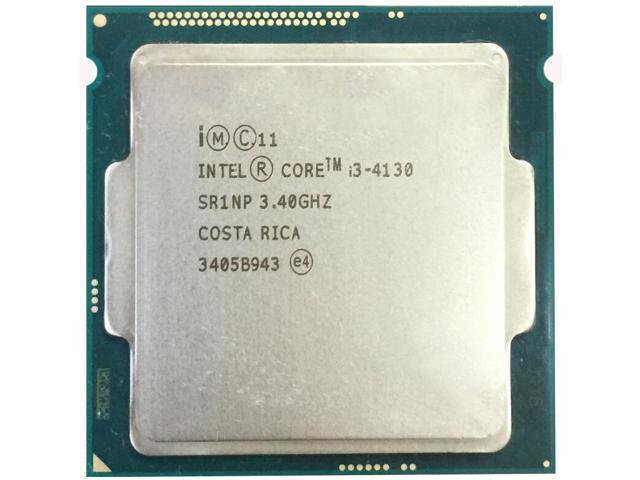 デスクトップPC用CPU INTEL Core i3-4130 SR1NP 3.40GHZ インテル 増設CPU【送料無料【中古】