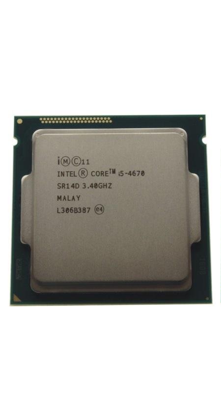 初期保障有 交換CPU 中古パーツ 代引き不可 I5-4670 デスクトップPC用CPU INTEL Core 3.40GHZ 送料無料 SR14D インテル 中古 i5-4670 春の新作 増設CPU 希望者のみラッピング無料