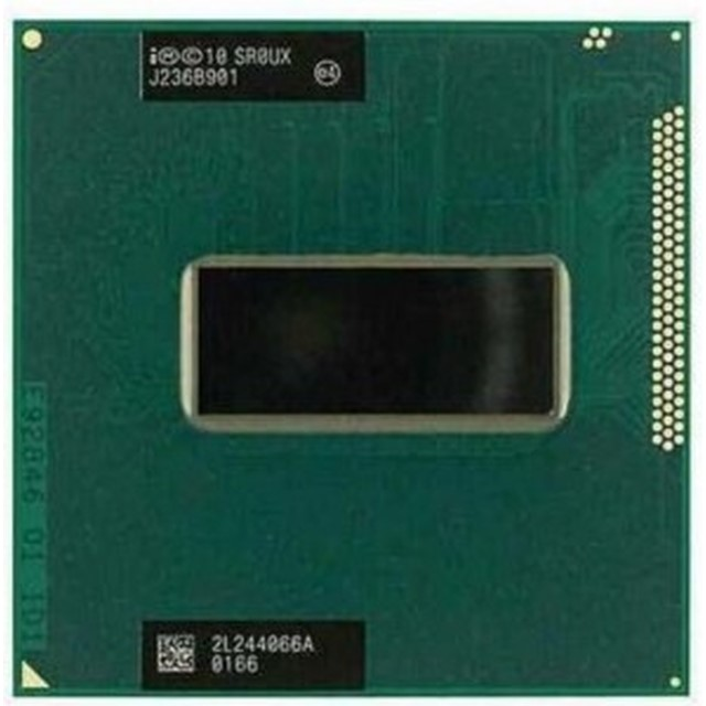【中古】送料無料★ノートPC用Intel Core i7 3630QM モバイル CPU 2.40GHz SR0UX ★初期保障あり★完動品★増設cpu