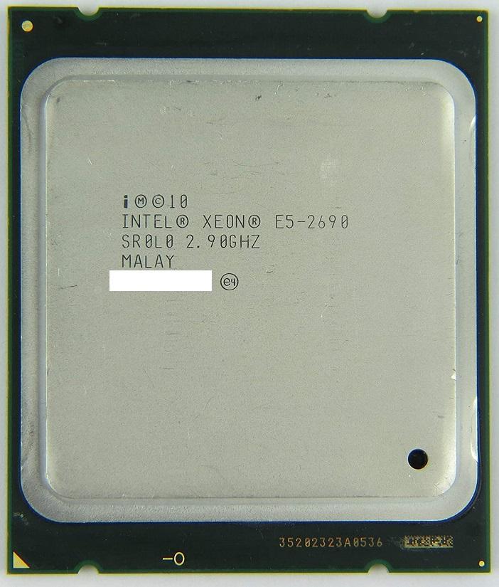 初期保障有 交換CPU 中古パーツ 代引き不可 e5-2690 安心初期付き 正規品 Intel 2.90GHz 送料無料 SR0L0 オーバーのアイテム取扱☆ 20M Xeon 公式サイト 中古 E5-2690 CPU