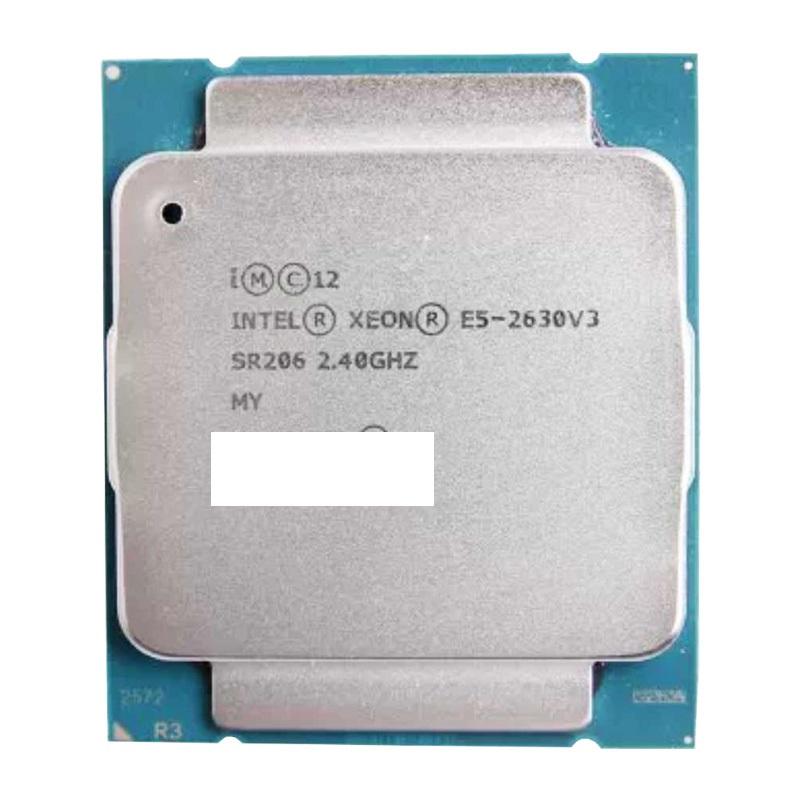 初期保障有 交換CPU 中古パーツ 代引き不可 売れ筋ランキング 海外限定 e5-2630V3 安心初期付き 正規品 デスクトップ用cpu 送料無料 Intel E5-2630V3 SR206 CPU Xeon 中古