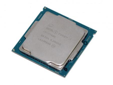 デスクトップPC用CPU Intel CPU Corei7 i7-7700K 4.2GHz 8Mキャッシュ 4コア/8スレッド インテル 増設CPU【送料無料】【美品】【中古】