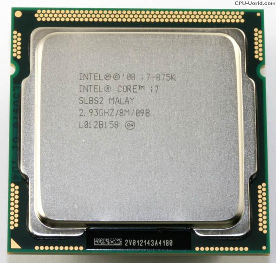 初期保障有 交換CPU 中古パーツ 代引き不可 I7-875k デスクトップPC用CPU Intel CPU 増設CPU 送料無料 美品 新作通販 i7-875K 中古 2.93GHz インテル ☆国内最安値に挑戦☆ Corei7