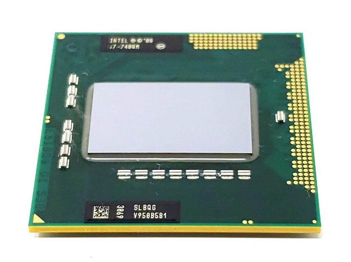 初期保障有 交換CPU 中古パーツ 代引き不可 i7-740QM ノートPC用CPU Intel I7-740QM 安い 中古 Core SLBQG セットアップ モバイル 送料無料 1.73GHz