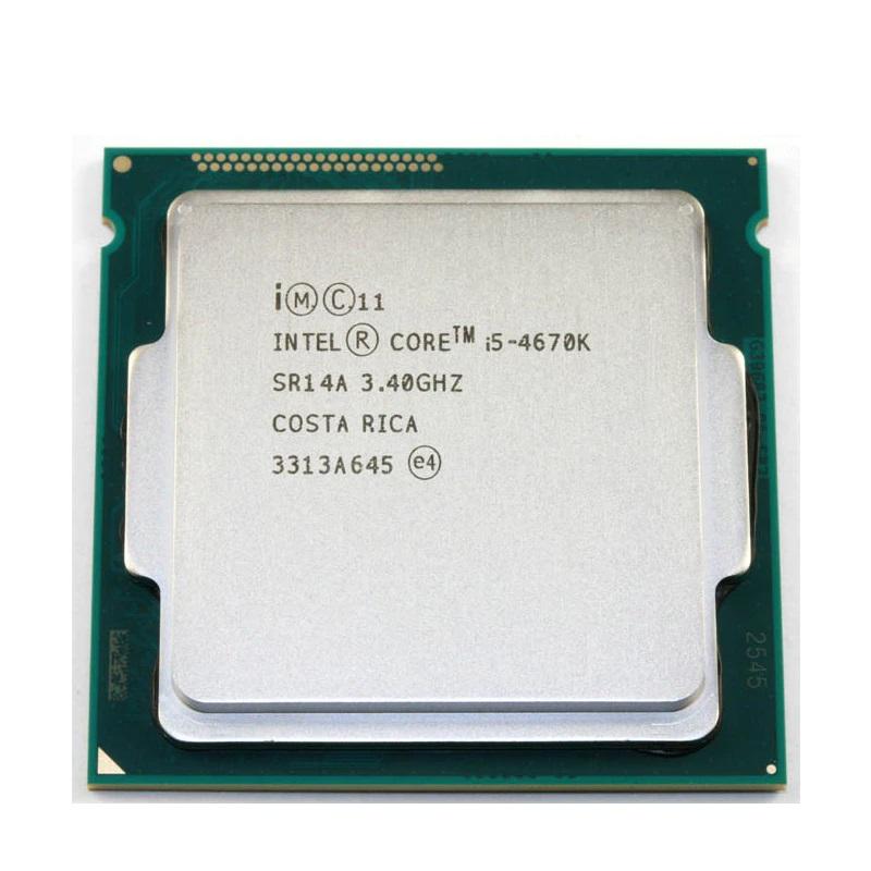 初期保障有 交換CPU COREi5-4670k 送料無料 本体PC用CPU Intel CPU 6Mインテル CORE 中古 3.40GHz i5-4670K 増設CPU 業界No.1 5☆好評