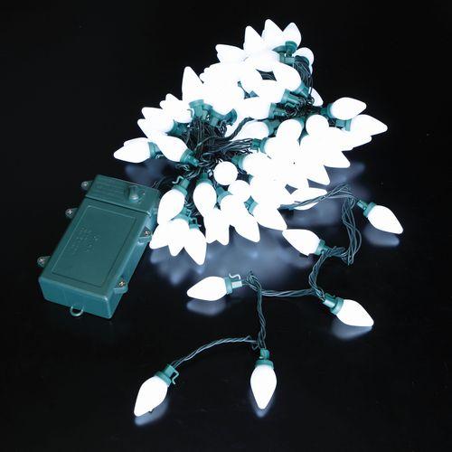 メーカー公式ショップ 自動点灯機能付きLEDミルキーライト ホワイト イルミネーション 期間限定 クリスマス