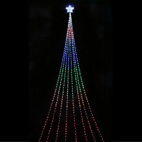 LEDナイアガラライトDX(レインボー) ★クリスマス イルミネーション
