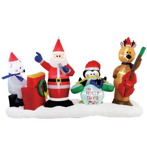 エアーディスプレイ(LL)クリスマスバンド ★クリスマス イルミネーション