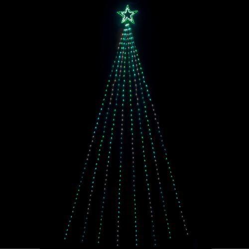 LEDナイアガラレイニーライトDX (グリーングラデーション) ★クリスマス イルミネーション