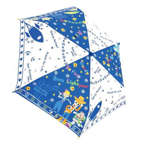 キャラクター折畳傘 アンブレラ ディズニー トイ ブルーポップ 予約販売 ストーリー 90322 折りたたみ傘 国内送料無料