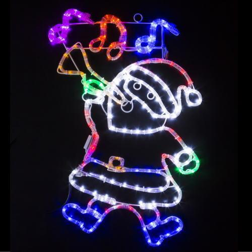 LEDチューブライト ミュージカルサンタ ★クリスマス イルミネーション