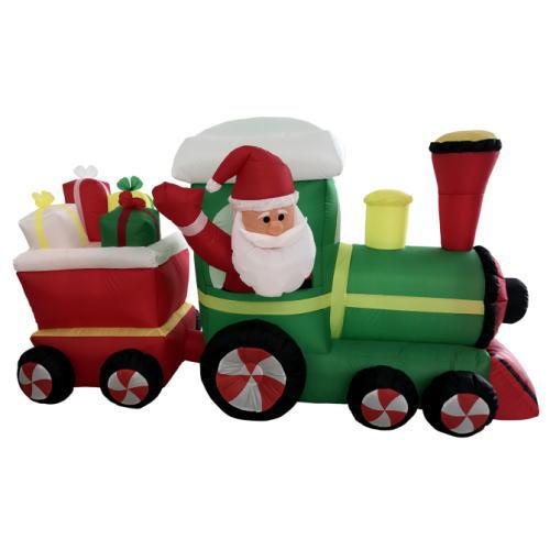 エアーディスプレイ(L) サンタプレゼントトレイン2車両 ★クリスマス イルミネーション